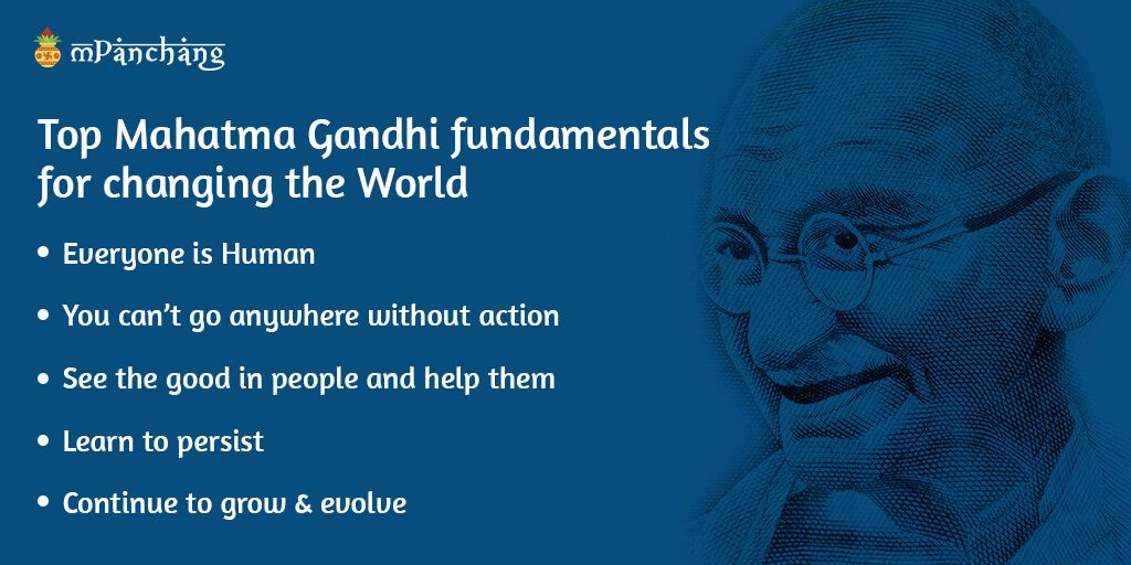 Top Mahatma Gandhi fundamentals for changing the World