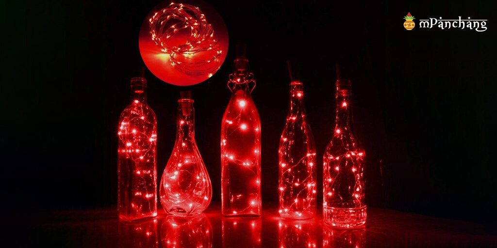 Bottle lighting-Diwali decoration