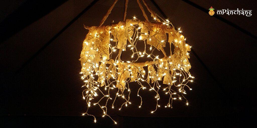 Hand made chandelier