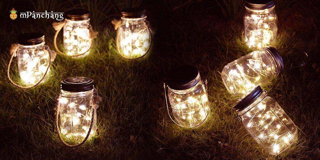 Mason Jar light ideas
