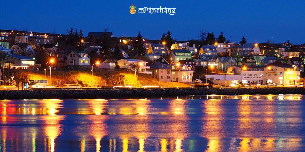 Reykjavik, Iceland - New year celebration